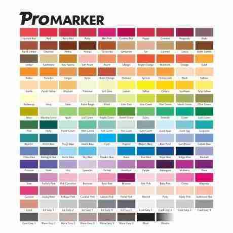 cartella colori promarker