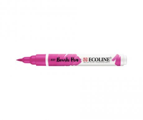 ecoline brush pen magenta 337 talens