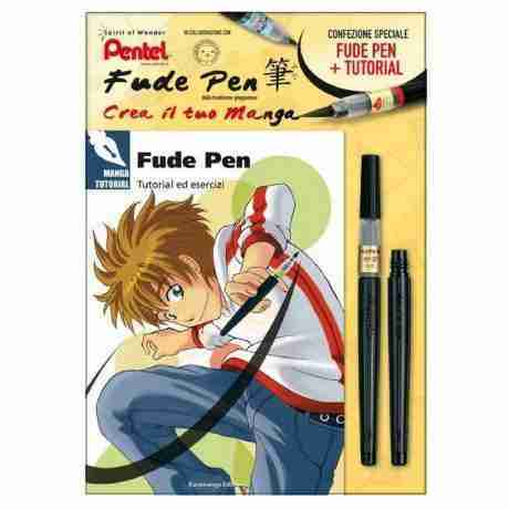 fude pen pentel tutorial