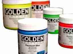 Golden Acrilico Fluorescente e Fosforescente