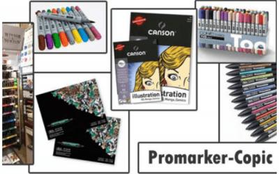 Disegnare con i pennarelli e marker
