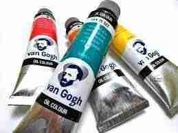 Oil color Van Gogh