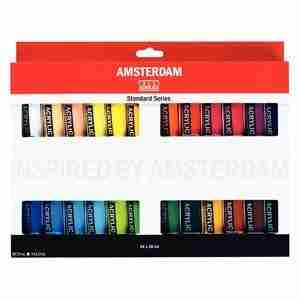 Amsterdam Acrylic Set 24 colori da 20 ml