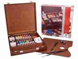 Vangogh Acrilico Inspiration box in legno