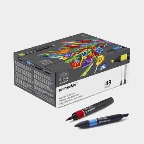 Pennarelli Promarker cofanetto 48 colori
