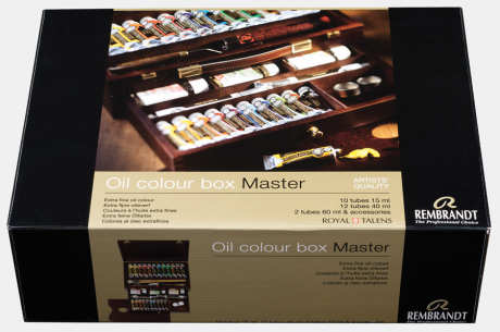 Rembrandt Oil Coulour Box Master