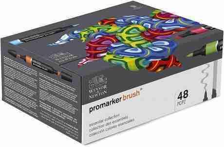 Promarker Brush set 48 colori e1622802644942