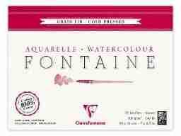 Fontaine acquerello fine18x24