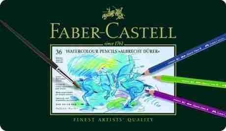 117536 Durer 36 colori acquarellabili Faber castell10