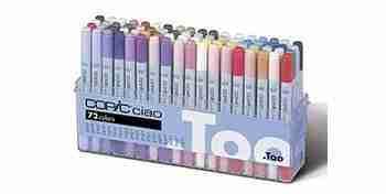 copic ciao set 72 colori A10